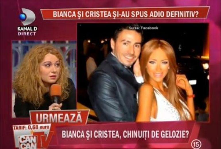 Catalin Botezatu: Eu nu cred ca Bianca si cristea s-au despartit din cauza ei