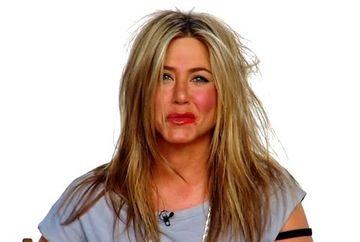 Jennifer Aniston, cu parul si machiajul stricat din cauza lui Ellen DeGeneres FOTO SI VIDEO