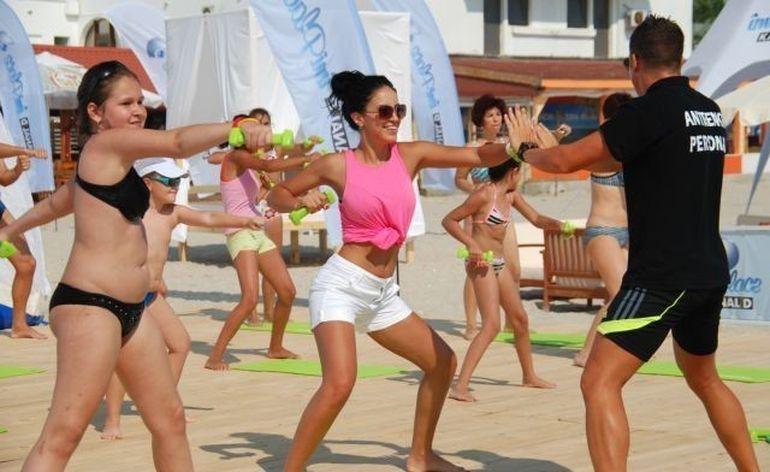 Weekend fierbinte pe plaja Kanal D Summer Studio!