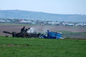 UPDATE - TRAGEDIE in judetul Buzau: un elicopter militar s-a prabusit. 4 oameni si-au pierdut viata