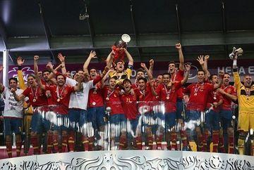 Spania a invins Italia cu 4-0 si a castigat din nou Campionatul European