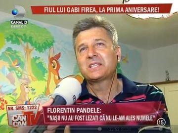 "Florentin Pandele: ""Imi doresc ca fiul meu sa devina preot nu popa"""