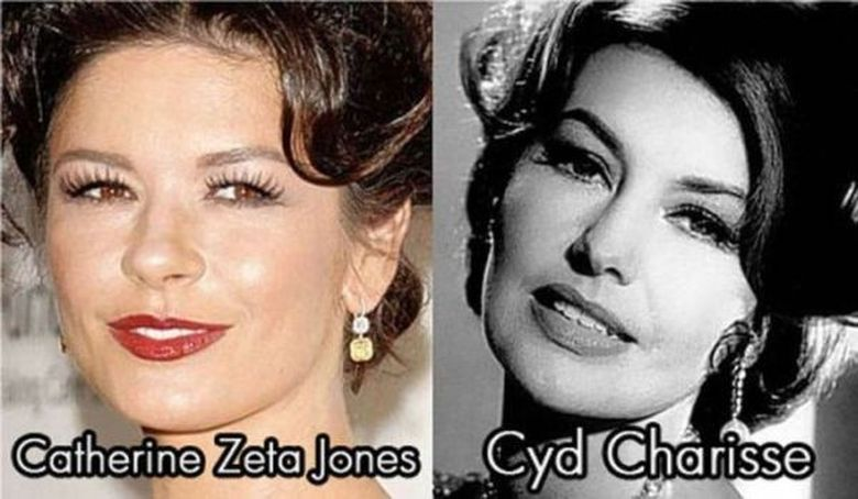 Asemanari IZBITOARE - Celebritati care copiaza stilul legendarilor actori de la Hollywood! FOTO