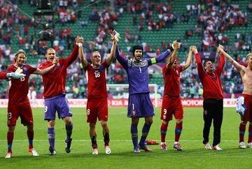 EURO 2012: Cehia si Rusia viseaza la sferturi. Vezi GOLURILE de ieri si PROGRAMUL de astazi VIDEO