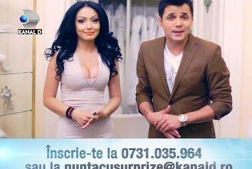 """ATENTIE! Kanal D nu percepe niciun fel de taxa pentru participarea la """"Nunta cu surprize""""! Inscrie-te AICI la un nou sezon"""
