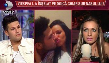 """DOVADA ca Ogica a fost inselat: """"Am fost cu ea in apartamentul lui Ogica"""". Afla a cui este declaratia!"""