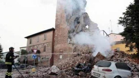Un nou cutremur cu magnitudinea de 5,1 a zguduit Italia