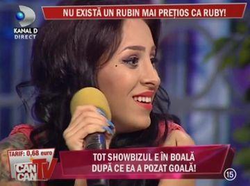 Ruby, un nou nume in muzica romaneasca. Va reusi sa se afirme? VIDEO