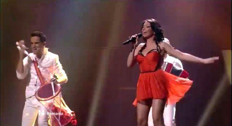 Eurovision 2012: Romania s-a clasat pe locul 12. Suedia A CASTIGAT concursul