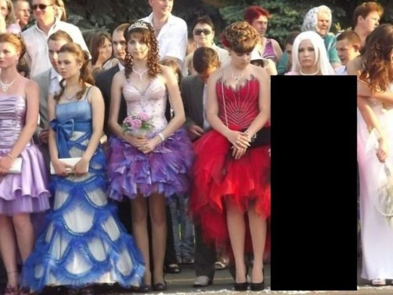 DIZGRATIOS - Cum sa NU te imbraci la o nunta! GAFA unei rusoaice