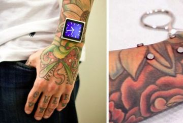 Cea mai EXTREMA modalitate de a purta un iPod Nano! Cum ti se pare ideea?