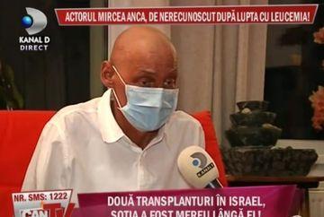 Actorul Mircea Anca, de nerecunoscut dupa lupta cu leucemia