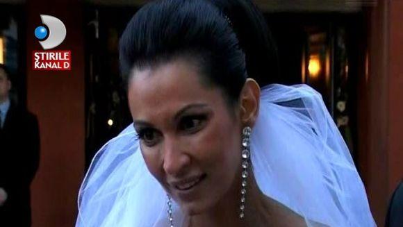 Nicoleta Luciu, peripetii la nunta. Si-a uitat soacra si sora la biserica VIDEO