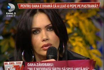 """Oana Zavoranu:""""Il iubesc pe Pepe asa cum era acum un an"""" Uite cum plange bruneta dupa fostul sot!"""