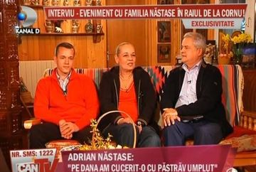 """Adrian Nastase:""""Dana a fost si este o femeie extraordinar de frumoasa."""" Uite cu ce si-a cucerit sotia!"""
