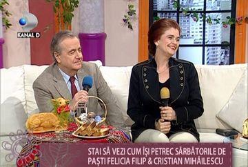 """Felicia Filip: """"Este pentru prima data cand vom gati noi totul de Pasti"""" VIDEO"""
