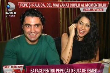 Pepe si Raluca, cel mai vanat cuplu al momentului