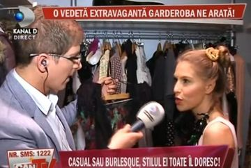 Corina Bud, o vedeta extravaganta. Uite cum arata garderoba ei!