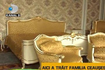 Imagini in EXCLUSIVITATE din casa in care a trait familia Ceausescu! VIDEO