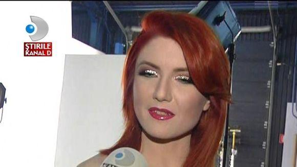 Alexandra Ungureanu, imagini din culisele unui nou videoclip VIDEO