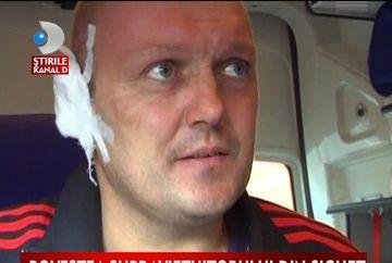 Marturia cutremuratoare a unui pompier, victima a exploziei de la Sighetul Marmatiei VIDEO