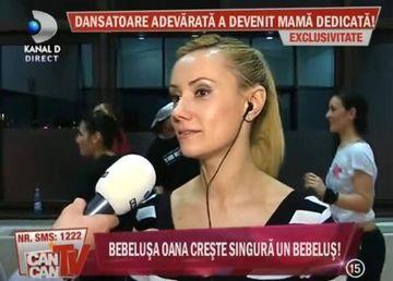 """Bebelusa Oana: """"Nu cred in actele de divort"""""""