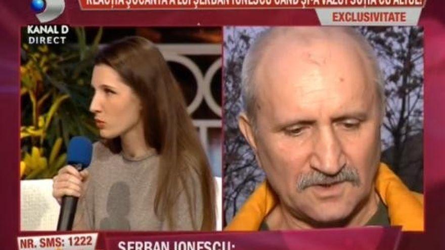 Reactie incredibila a lui Serban Ionescu cand si-a vazut sotia sarutandu-se cu amantul!