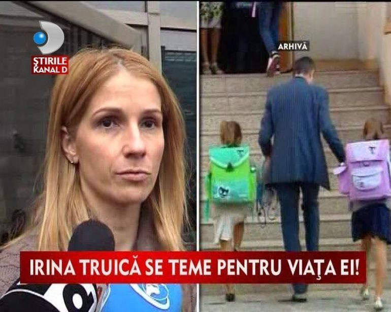 Irina Truica se teme pentru viata ei VIDEO