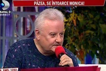 """Irinel Columbeanu: """"Monica poate sa vina sa petreaca 8 Martie cu ea"""""""