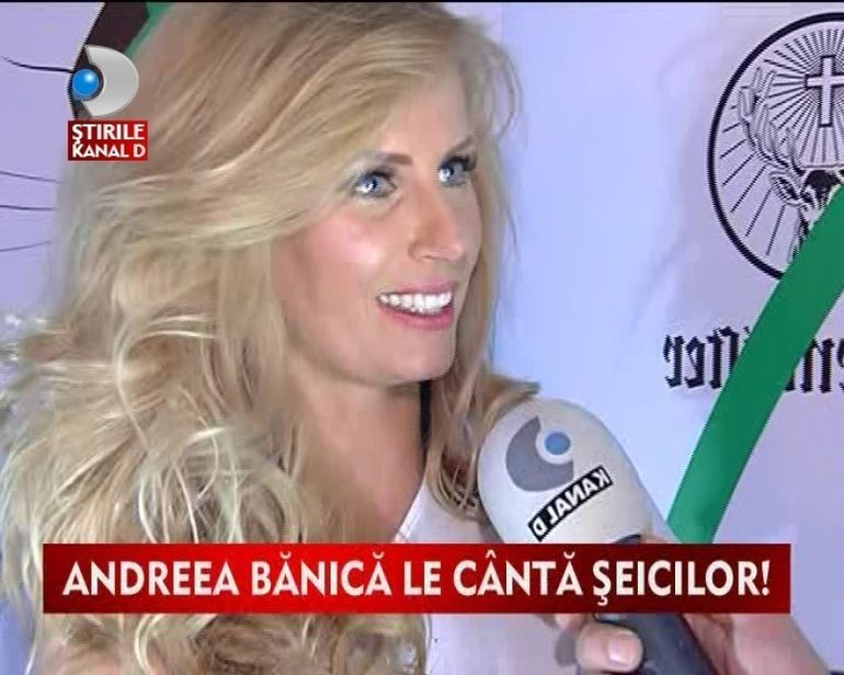 Andreea Banica, concert incendiar in Dubai VIDEO