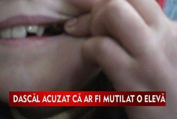 Socant!Un dascal si-a batut elevul pana i-a scos un dinte VIDEO
