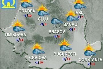 PROGNOZA METEO: Temperaturile sunt in crestere! Afla cum va fi vremea in weekend