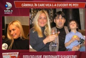 Acasa la Vica Blochina. Fotografii in EXCLUSIVITATE cu Piturca si fiul sau ilegitim