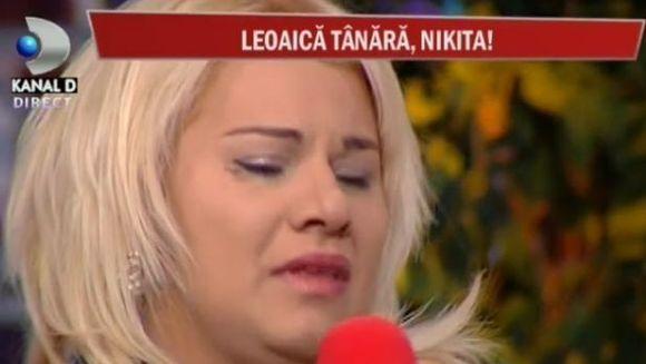 Nikita a inceput sa planga la CanCan TV. Uite ce a mai patit!