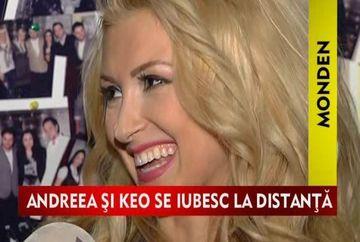 Andreea Balan si Keo, separati de Ziua Indragostitilor!VIDEO