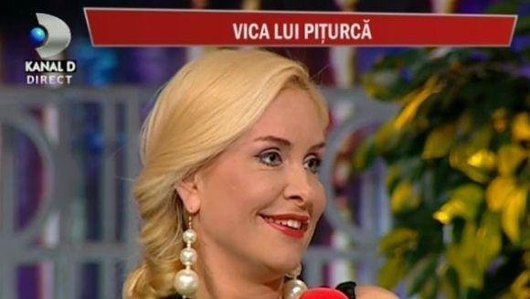 """Vica, despre Victor Piturca: """"Nu sunt indragostita de el, dar il iubesc foarte mult"""""""