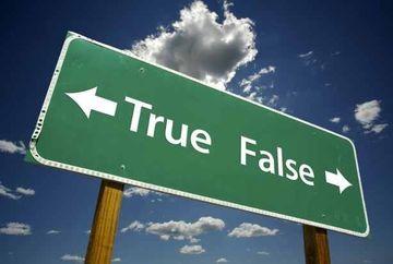 Adevarat sau fals? Miturile la control