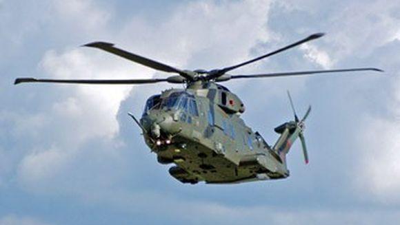 Mihai Razvan Unugureanu a aterizat cu elicopterul in Vrancea