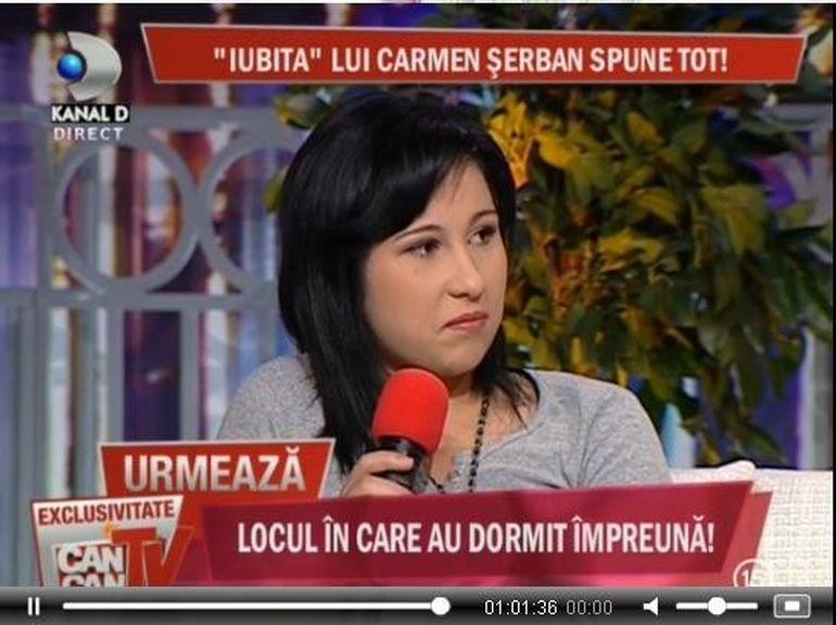 Ana Claudia, presupusa iubita a lui Carmen Serban: Eu am iubit-o foarte mult si mi-am facut si un tatuaj pentru ea