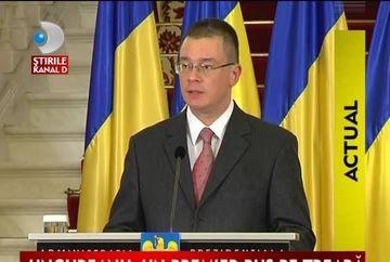 Cabinetul Ungureanu: Premierul desemnat a anuntat componenta noului Guvern.Uite care sunt noii ministri VIDEO