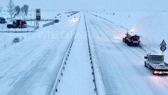 COD GALBEN de viscol si ninsori - Afla ce drumuri nationale sunt inchise, dar si care sunt cele restrictionate