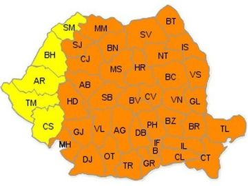 PROGNOZA METEO: Cod portocaliu de ger in majoritatea regiunilor tarii. Afla pana cand!