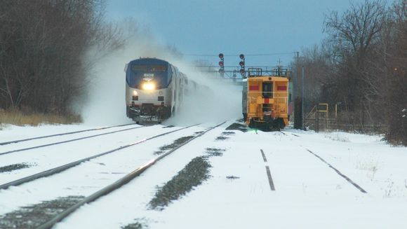 Un tren pe ruta Constanta - Bucuresti a deraiat