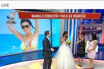 Andreea Tonciu se marita. Uite-o imbracata in rochie de mireasa!