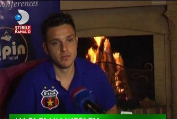 Wesley a refuzat oferta lui Gigi Becali de a veni la Steaua. VIDEO