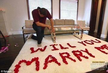 Kim Kardashian a planuit in detaliu cum sa fie ceruta in casatorie de Kris Humphries!