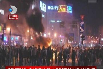 Afla bilantul distrugerilor din timpul protestelor de duminica!
