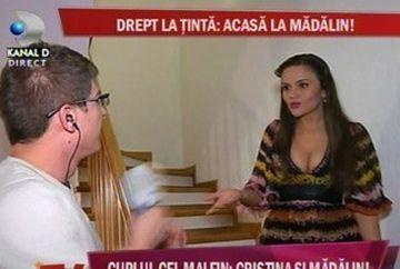 Cristina Siscanu Ionescu si Marius Nita ( Cretinita ), disputa in direct la Cancan TV!