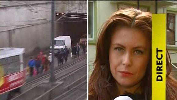 Presupusul terorist din tramvai, functionar la banca!VIDEO
