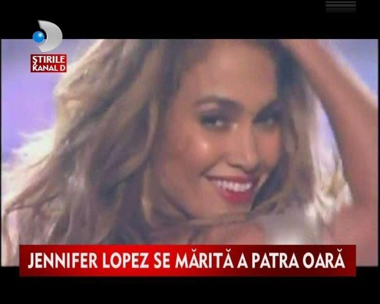 Jennifer Lopez a uitat complet de Marc Anthony. Se marita pentru a patra oara! VIDEO